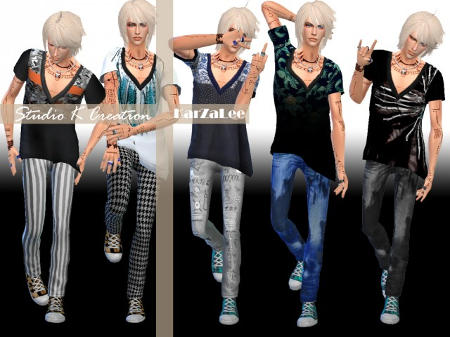 GIRUTO - S3 for male top and bottom by Karzalee