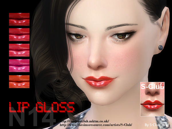 S-Club WM ts4 Lipstick 14