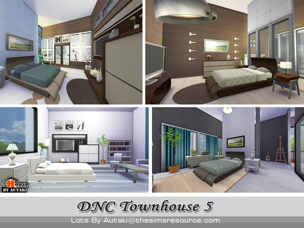 DNC Townhouse Design 5 by autaki