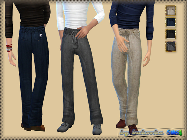Casual Set 1 male by bukovka