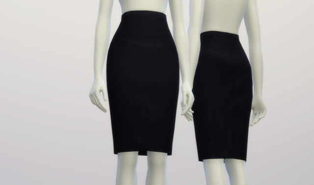 Basic Pencil Skirt by Rusty Nail