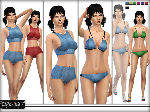 SET 06 - Stretch-Denim Set by DarkNighTt