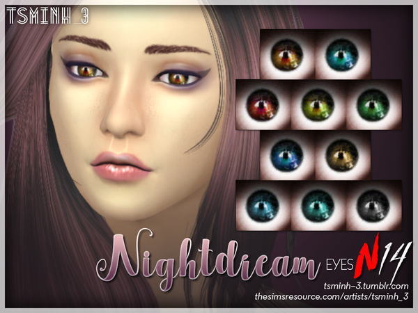 Night Dream Eyes by tsminh_3