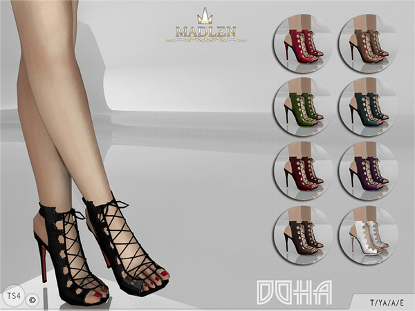Madlen Doha Shoes by MJ95