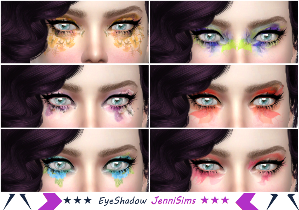 Makeup EyeShadow Fantasy Flowers by Jenni