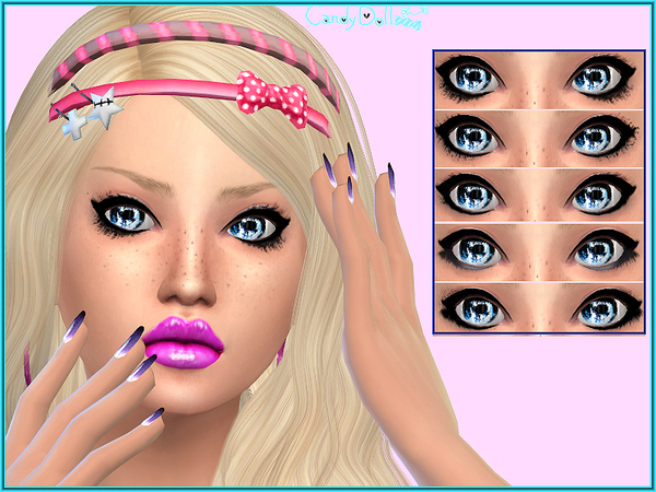 Candy Doll Star Lashes by DivaDelic06