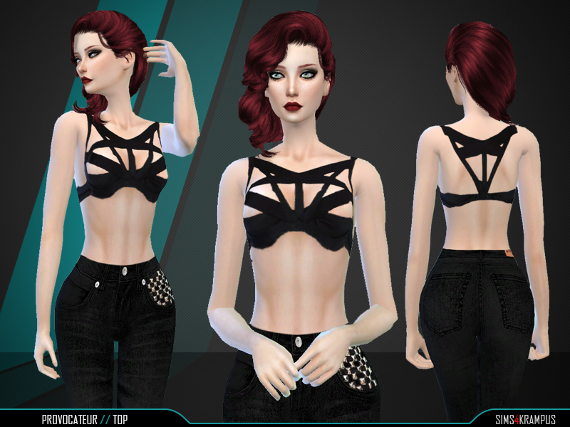 Provocateur Top BY SIms4Krampus
