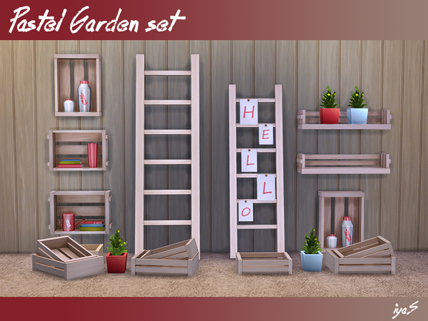 Pastel Garden set by soloriya
