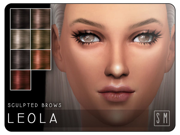 [ Leola ] - Sculpted Brows by Screaming Mustard