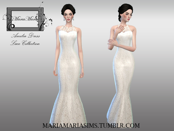 Amelia Dress by MariaMariaSims