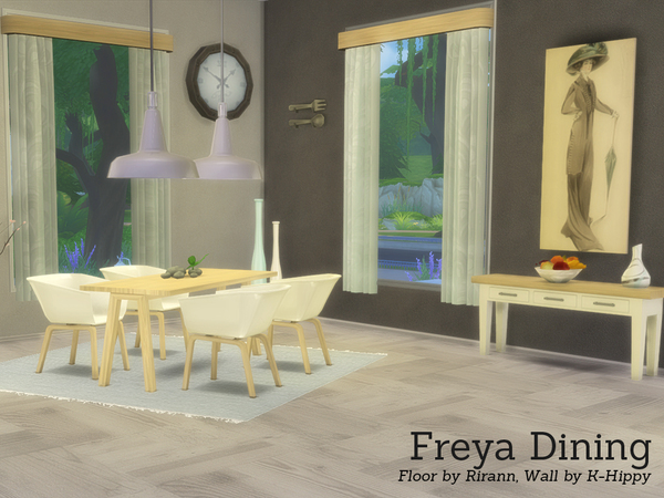 Freya Dining by Angela