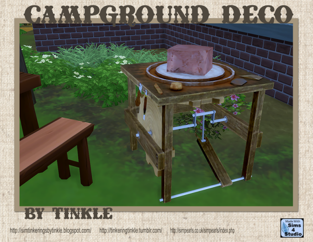 Campground Decor - 32 New Objects by Tinkle