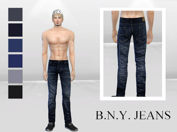 Middle Street Denim Jeans by McLayneSims