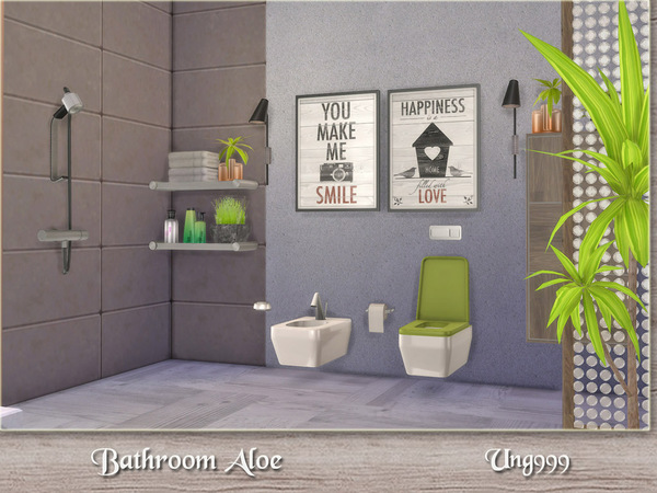 Bathroom Aloe by ung999