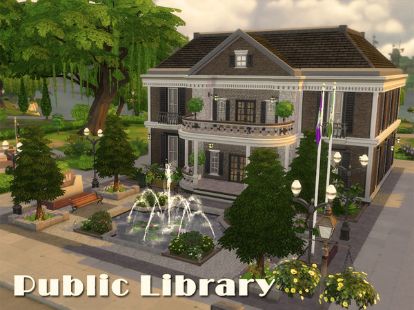 Public Library by Alan-is