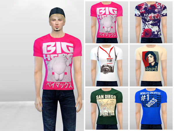 Graphics 102 Tees by McLayneSims