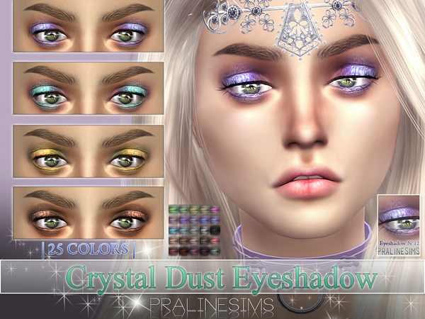 Crystal Dust Eyeshadow  N14 by Pralinesims