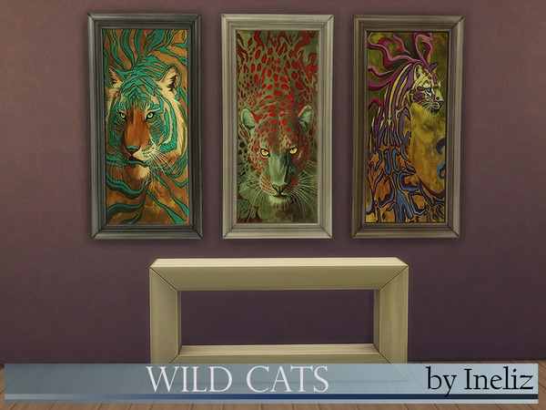 Wild Cats by Ineliz