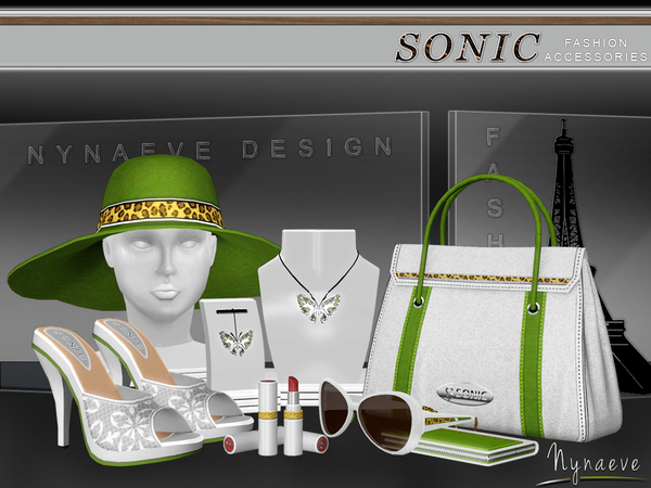 Sonic Fashion Accessories by NynaeveDesign