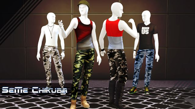 Tank Top and Pants for Males by SeMe Chikuba