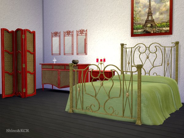 Paris Bedroom by ShinoKCR