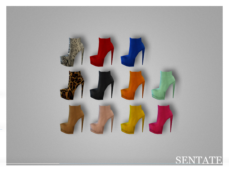 Yakuza Heel Collection - Ankle Boot BY Sentate