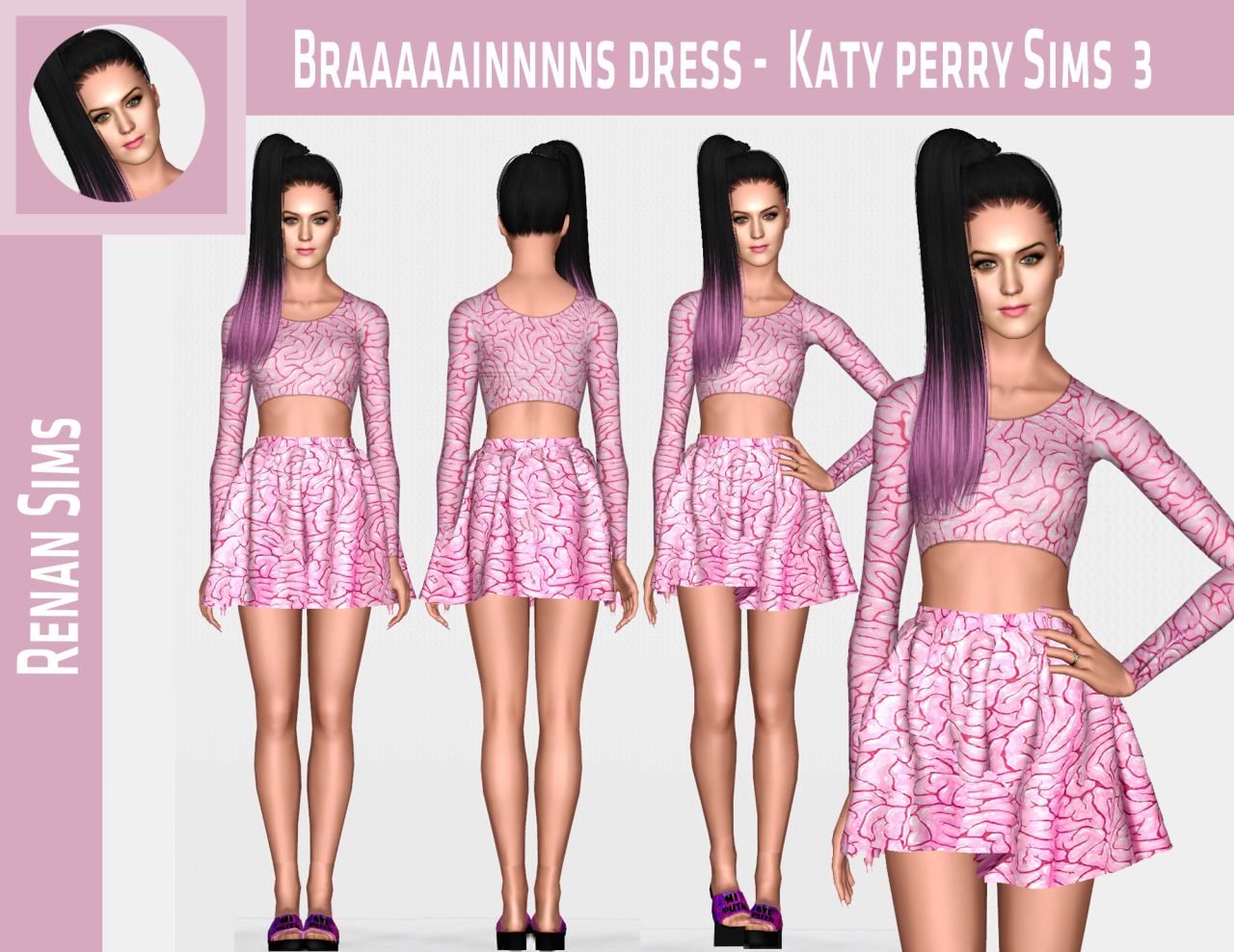 Katy Perry Braaaains Dress от RenanSims