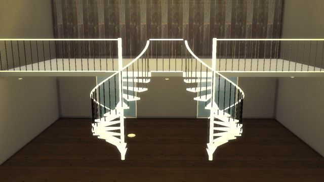 Spiral Stairs as Decoration (TS2-TS4) by LindseyxSims