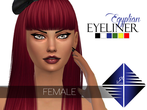 Egyptian Eyeliner [Female] by LSX