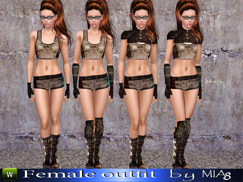 Female outfit by Mia8
