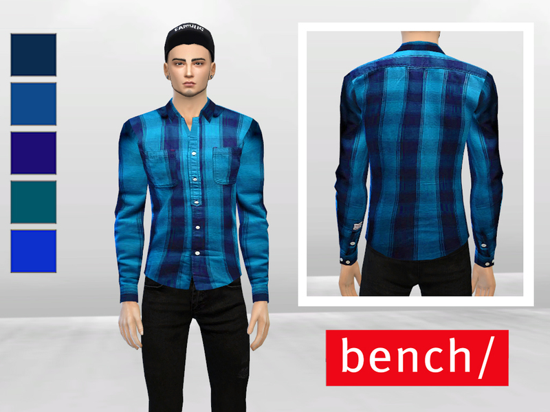 Shades Of Blue Formal Shirt  BY McLayneSims