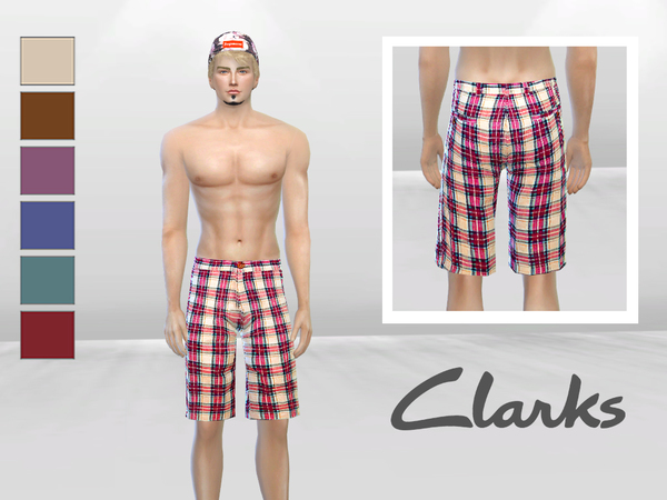 Oxford Checkered Short by McLayneSims