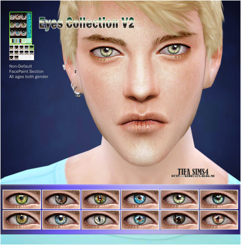 Eyes Collection V2 ND by Tifa