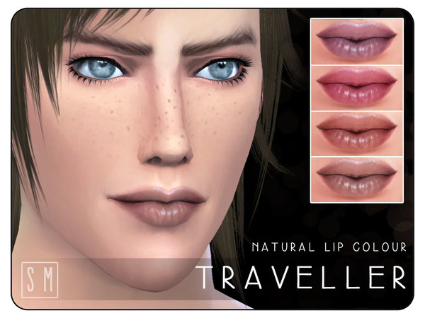 [ Traveller ] - Natural Lip Colour by Screaming Mustard