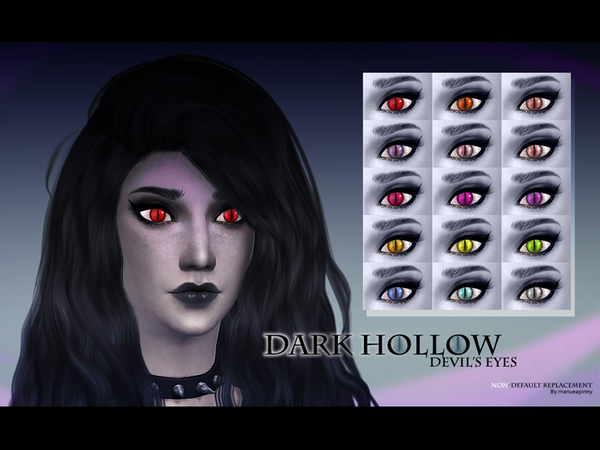 manueaPinny-Dark hollows's devil eyes by nueajaa