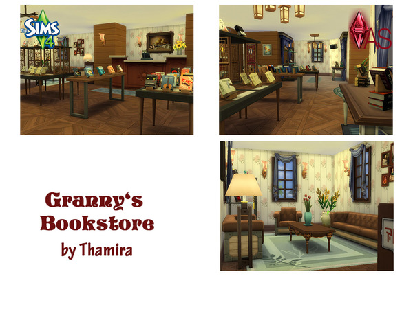 Granny's Bookstore by Thamira