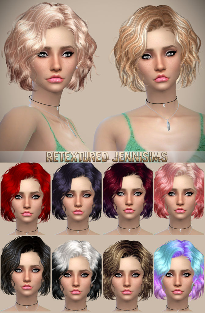 Newsea Foom Summer Hair Retexture by JenniSims