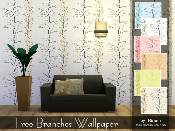 Tree Branches Wallpaper by Rirann