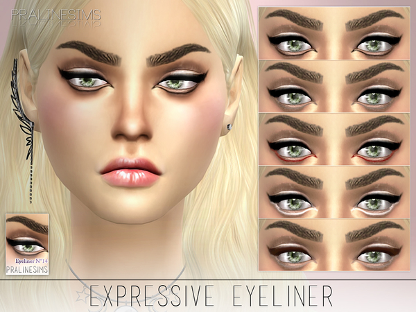 Expressive Eyeliner by Pralinesims