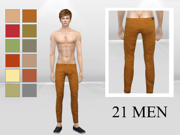 Chinese Charlie Skinny Pants by McLayneSims