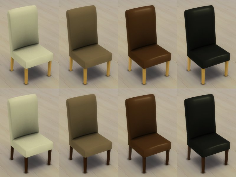 Modern 6-Seater Dining Table and Chair Set - TS4 by Inge Jones