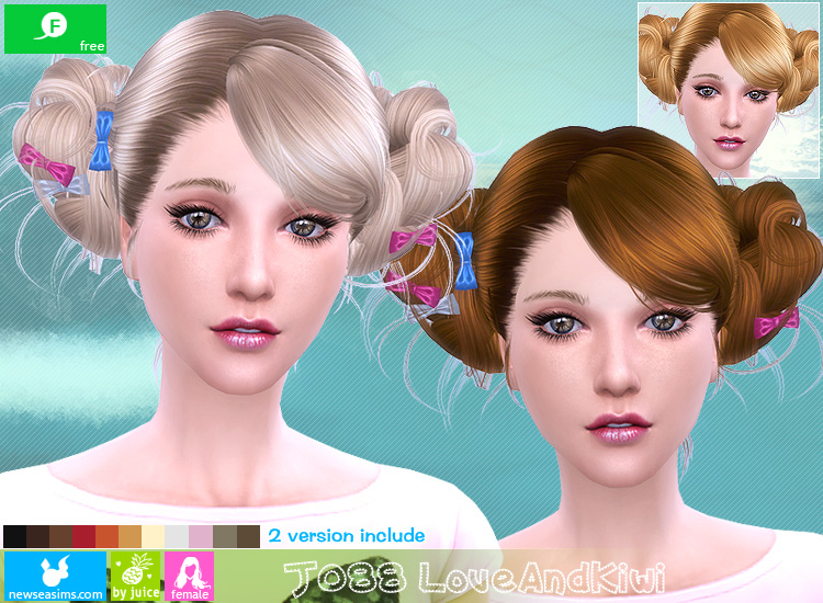 Newsea Love And Kiwi Hair for Females