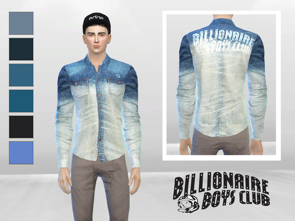 Light Years Denim Shirt by McLayneSims