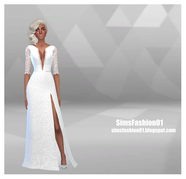 Wedding Dress by SimsFashion01