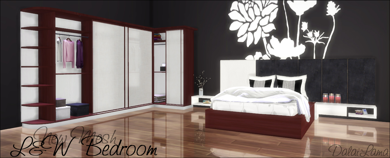 [DalaiLama] L&W Bedroom