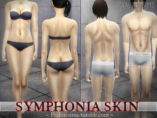 Symphonia Skin +DEFINITION OVERLAY  All Ages / All Genders by Pralinesims