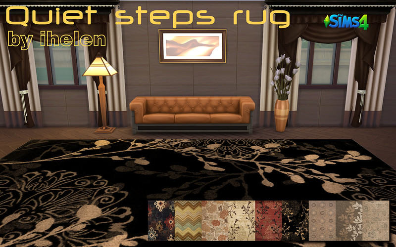 Quiet steps rugs by ihelen