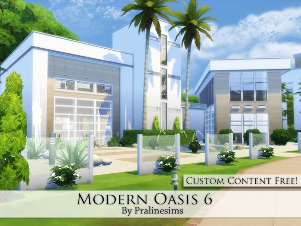 Modern Oasis 6 by Pralinesims