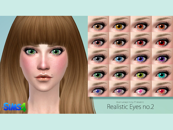 manueaPinny-Realistic eyes no.2 by nueajaa
