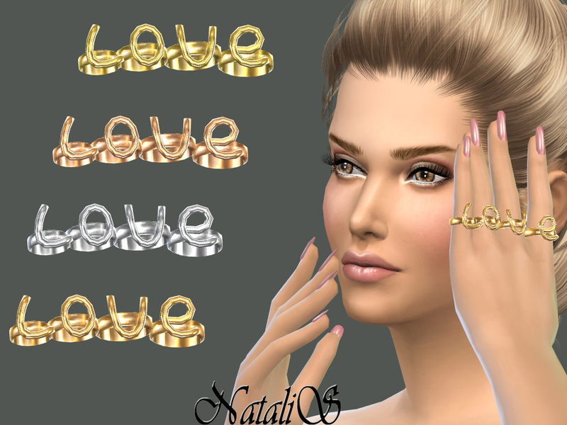 LOVE rings by NataliS